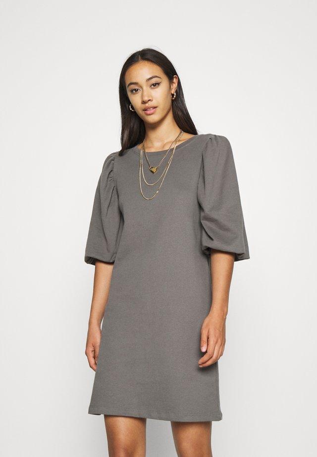 ONLGIA PUFF DRESS - Vestido informal - dark grey