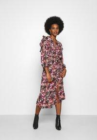 ONLY - ONLLAVIN 7/8  CALF DRESS - Maxi dress - black - 0