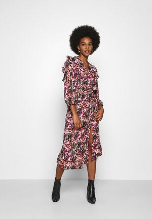ONLLAVIN 7/8  CALF DRESS - Długa sukienka - black