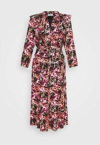ONLY - ONLLAVIN 7/8  CALF DRESS - Maxi dress - black - 4
