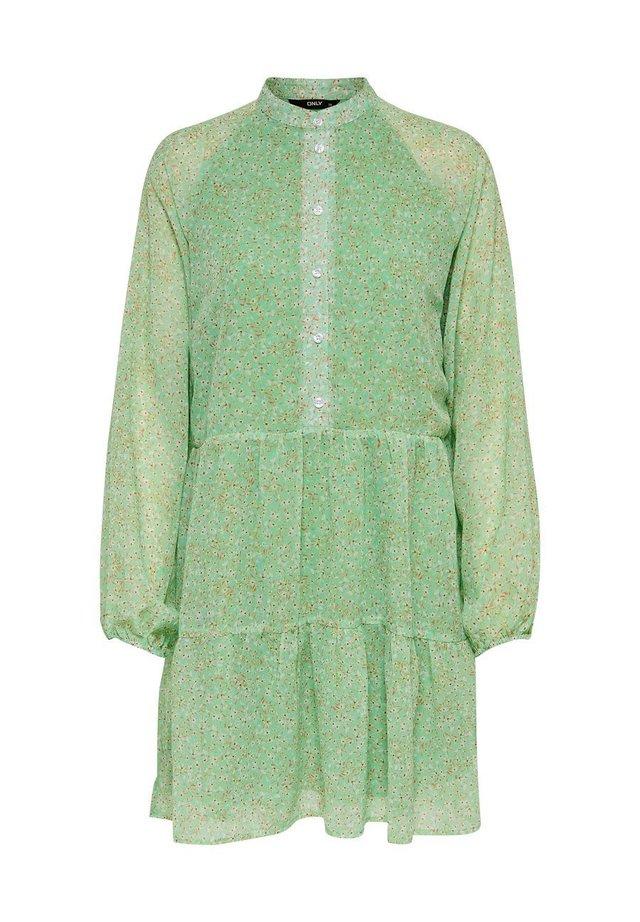 Shirt dress - hemlock