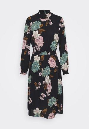 ONLNOVA LUX SMOCK BELOW KNEE DRESS - Day dress - black