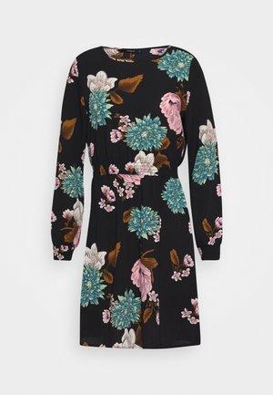 ONLNOVA LUX SMOCK SHORT DRESS - Korte jurk - black