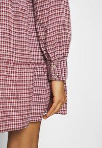 ONLY - ONLCAROLE LIFE DRESS  - Vestido informal - pomegranate - 5