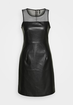 ONLVIBE MIX DRESS - Denní šaty - black