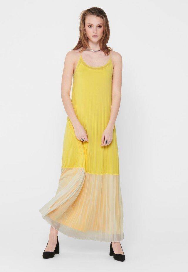 Vestido largo - Dusky Citron