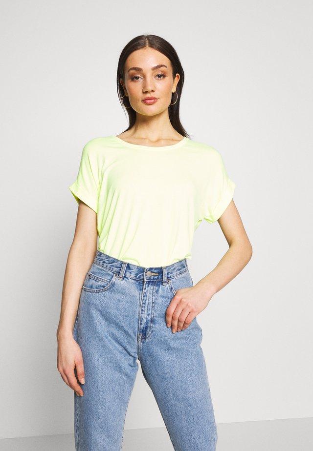 ONLMOSTER - Camiseta básica - neon yellow