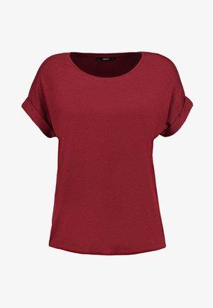 ONLMOSTER - T-shirt - bas - merlot