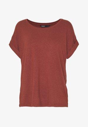 ONLMOSTER - T-shirt basique - henna