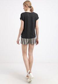 ONLY - ONLMOSTER - T-shirt - bas - black - 2