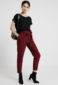 ONLY - ONLMOSTER - T-shirt basique - black/solid black - 1
