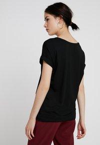 ONLY - ONLMOSTER - T-shirt basique - black/solid black - 2