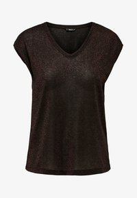 ONLY - T-shirt basic - brown - 4