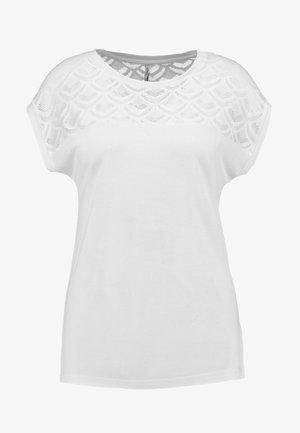 T-shirts print - cloud dancer