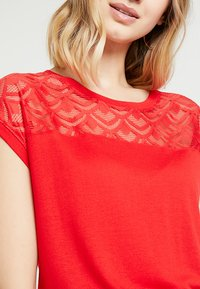 ONLY - ONLNICOLE - Blouse - high risk red - 4