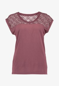 ONLY - T-shirt print - wild ginger - 4