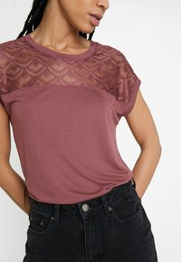 ONLY - T-shirt print - wild ginger - 5