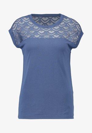 T-shirts med print - vintage indigo
