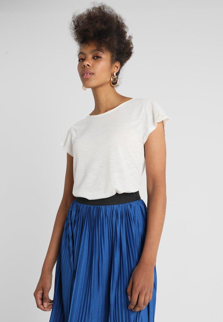 ONLY - ONYISA CAPSLEEVE - T-shirt basique - cloud dancer