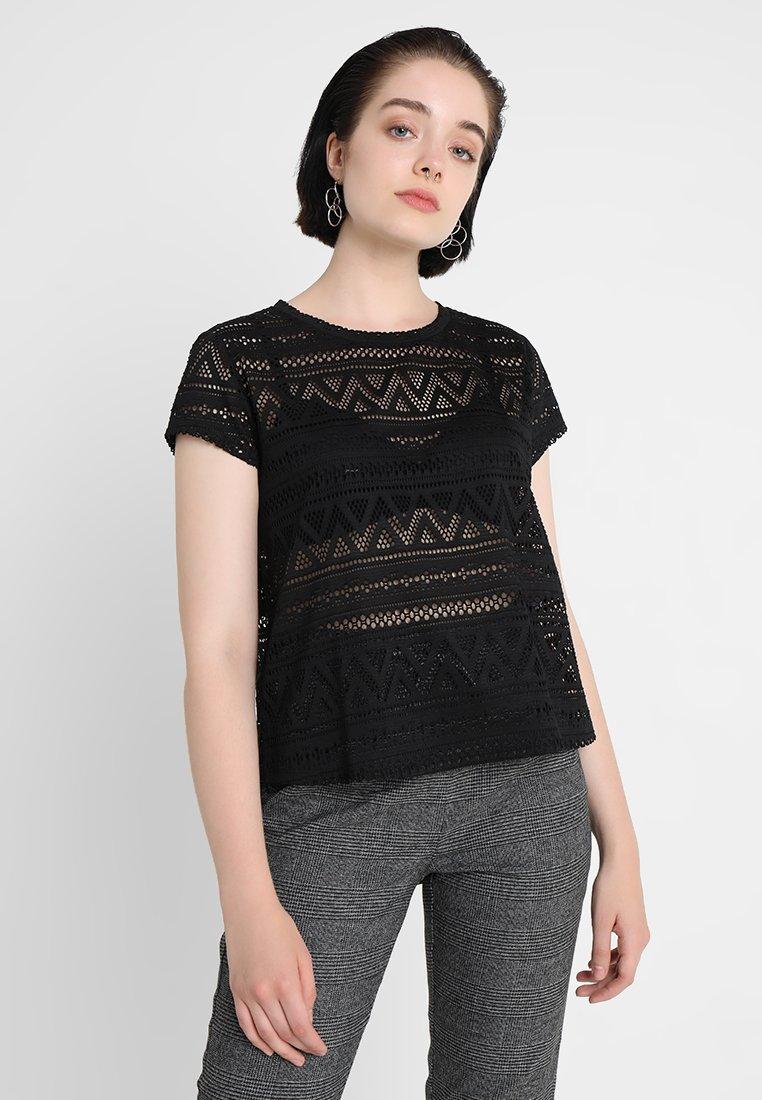 ONLY - ONLJOLLY  - T-Shirt print - black