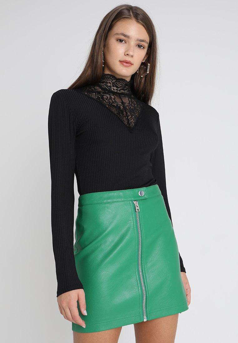 ONLY - ONLMILA  - Langarmshirt - black