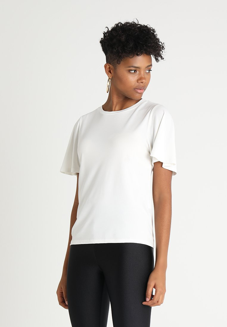 ONLY - ONLMILLE - T-shirt basic - cloud dancer