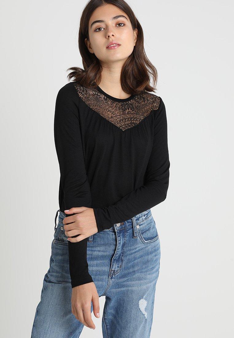 ONLY - Langarmshirt - black