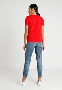 ONLY - ONLCHRISTMAS BLING BOX - Print T-shirt - goji berry - 2