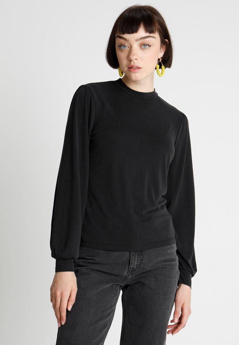 ONLY - ONLMARY HIGHNECK - Maglietta a manica lunga - black