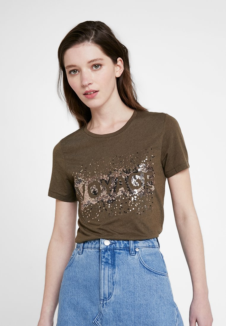 ONLY - ONLLINA  - T-Shirt print - crocodile