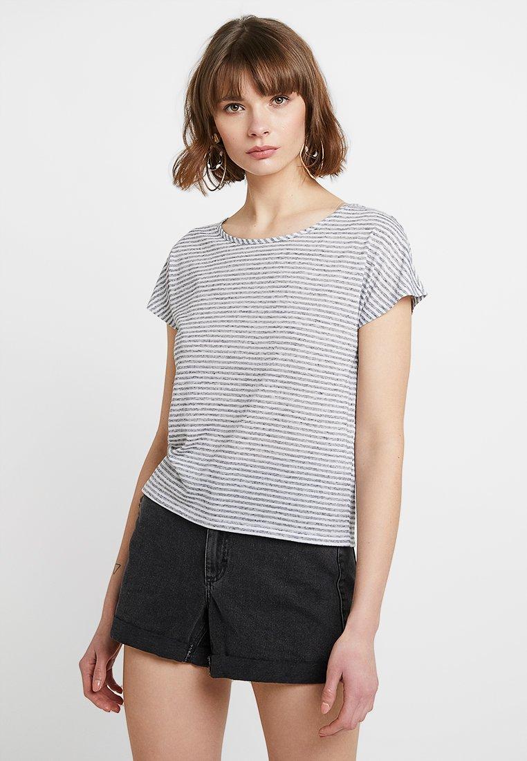 ONLY - ONLWINNIE NECK - T-Shirt print - night sky/cloud dancer