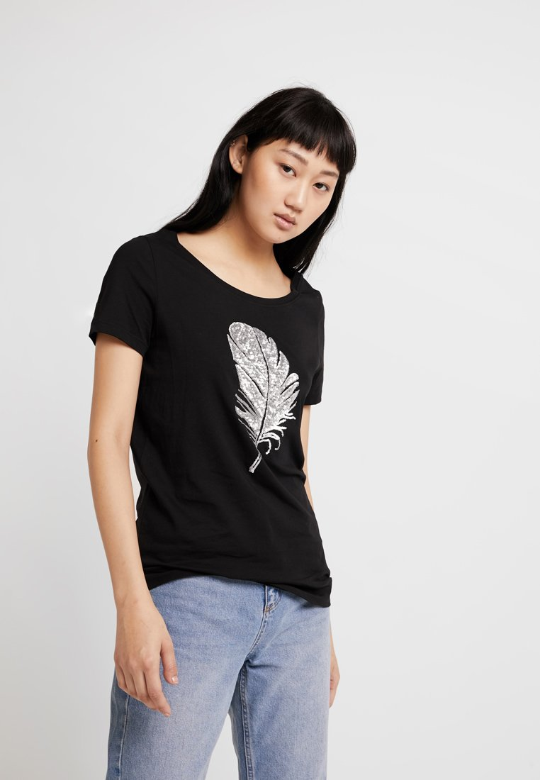 ONLY - ONLKITA MIX - T-Shirt print - black