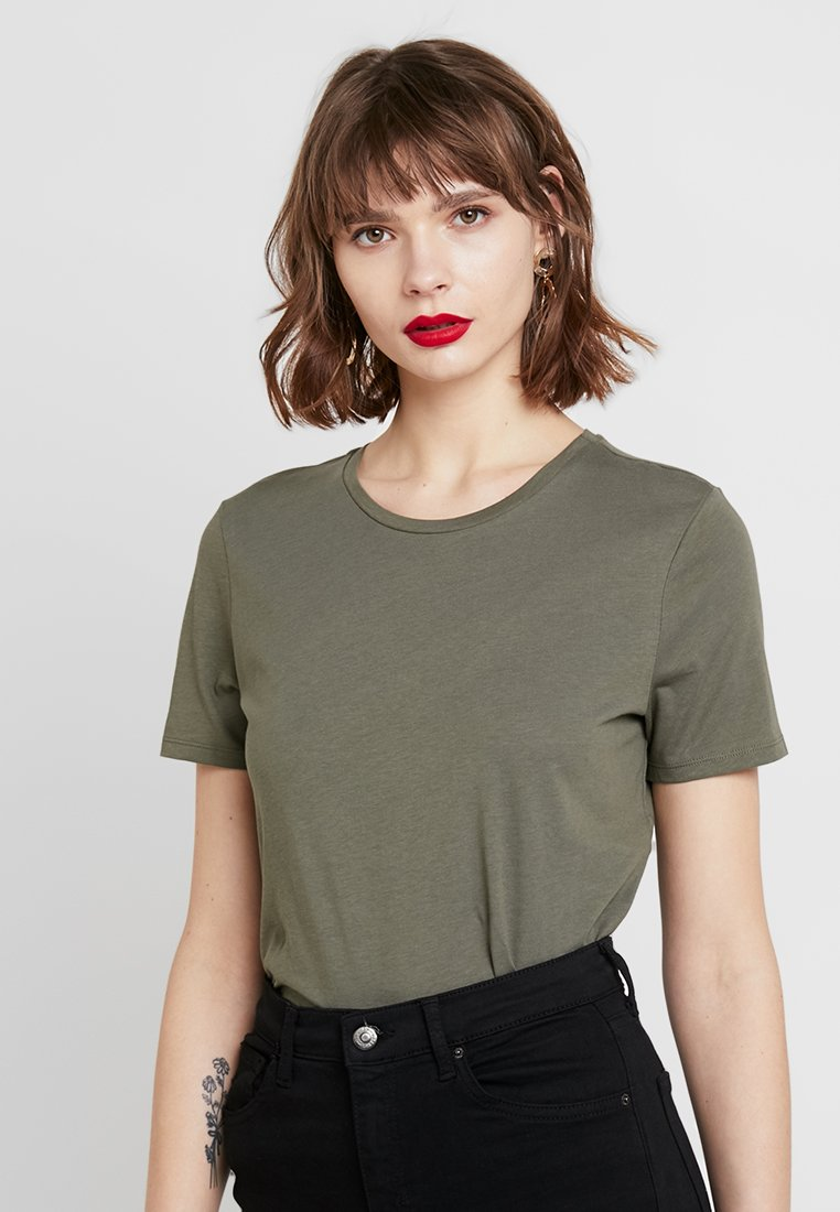 ONLY - ONLLOUNGE - Basic T-shirt - kalamata