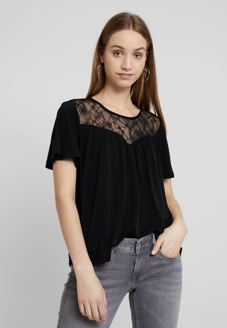 ONLY - ONLJENNY - T-Shirt print - black