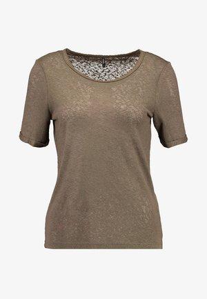 ONLRILEY O NECK - T-shirts basic - kalamata