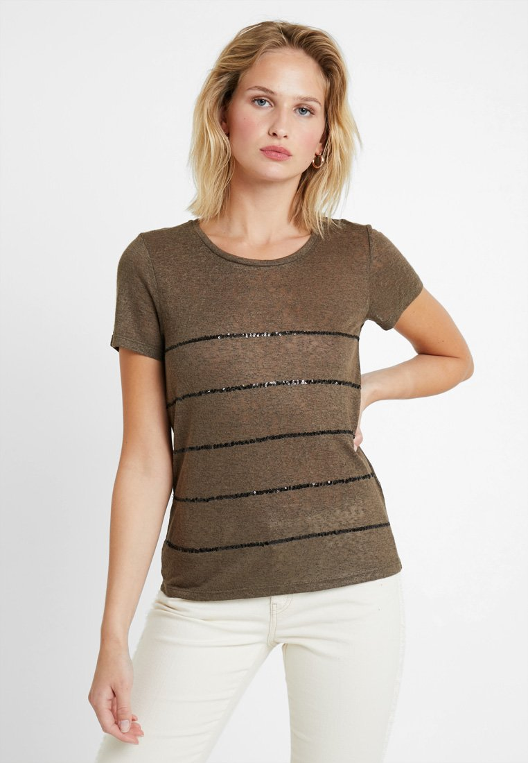 ONLY - ONLRILEY SEQUINS - T-shirts print - crocodile