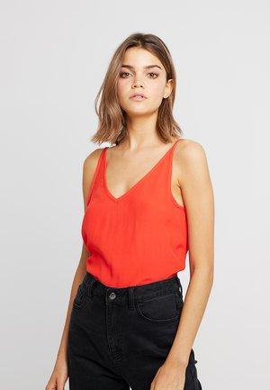 ONLELSA SINGLET - Top - flame scarlet