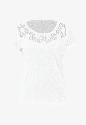 ONLRILEY MIX - Print T-shirt - cloud dancer