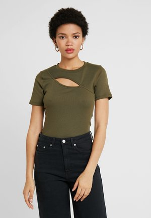 ONLSERILDA TOP - T-shirt print - kalamata