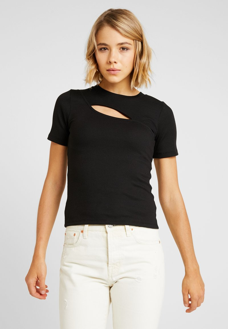 ONLY - ONLSERILDA TOP - T-Shirt print - black