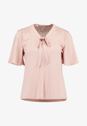 ONLSISSY BOW - T-shirt z nadrukiem - misty rose