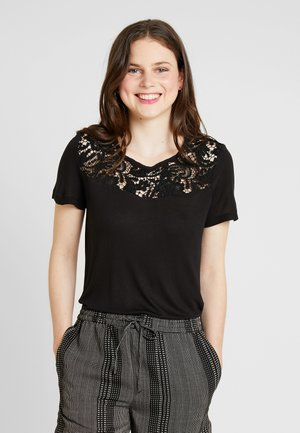 ONLALBA MIX - Camiseta estampada - black