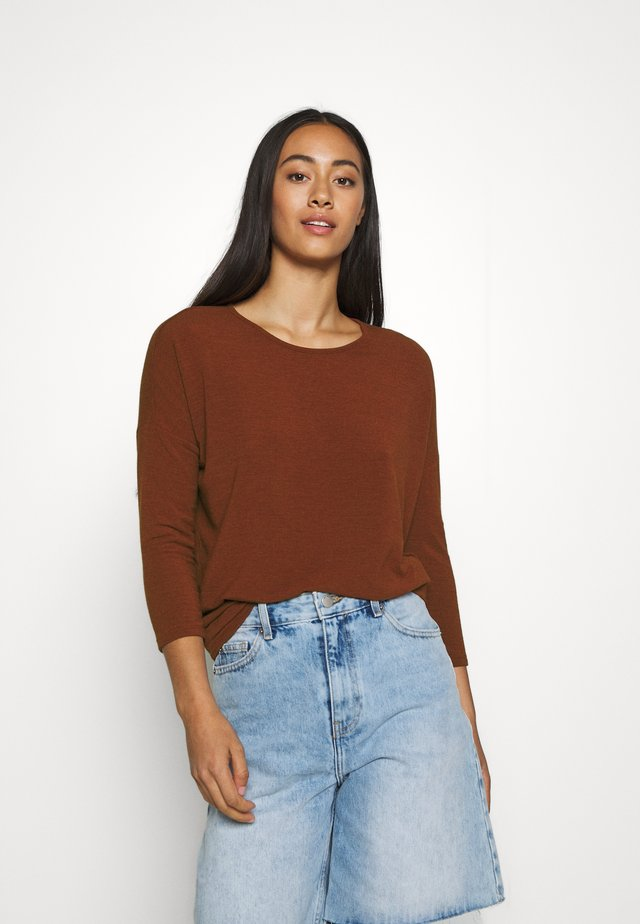 ONLGLAMOUR - Long sleeved top - burnt henna