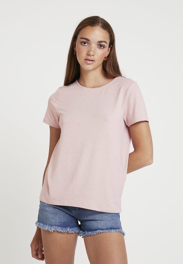 ONLMOSTER STRING - Camiseta estampada - pale mauve