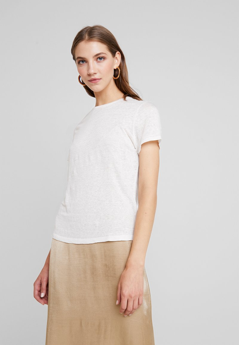 ONLY - ONLPATRICE TEE - T-shirts basic - cloud dancer