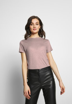 ONLPATRICE TEE - T-shirt - bas - misty rose