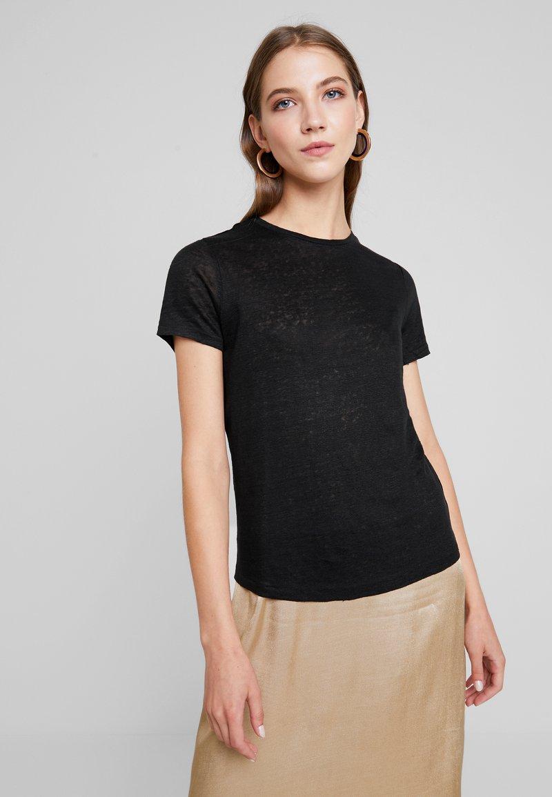 ONLY - ONLPATRICE TEE - T-Shirt basic - black denim