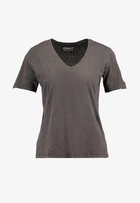 ONLY - ONLONE  V NECK - T-shirt basic - phantom - 3