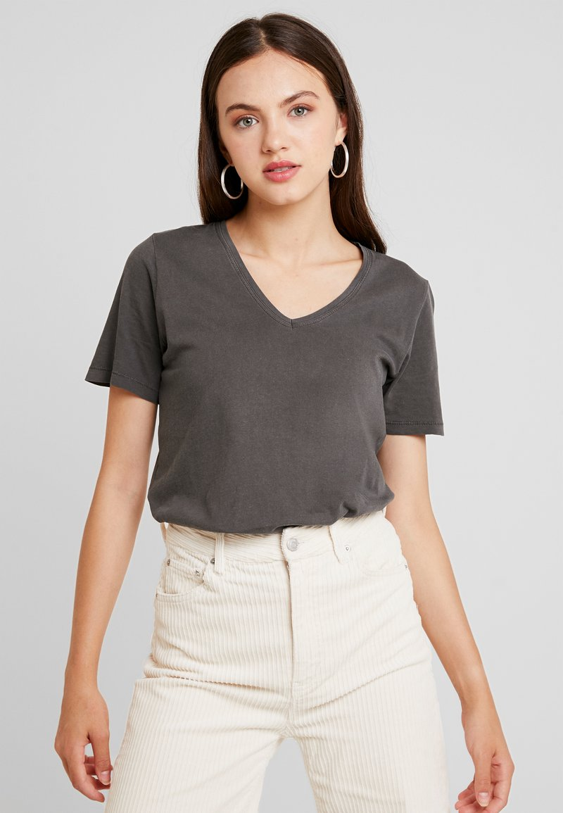 ONLY - ONLONE  V NECK - T-shirt basic - phantom