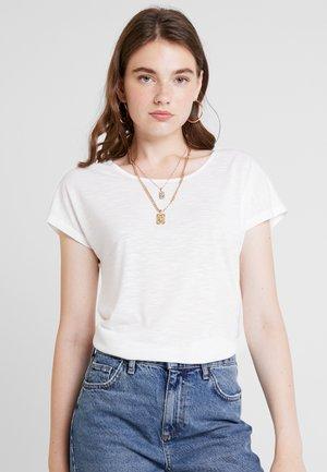 ONLELENA - T-Shirt print - cloud dancer